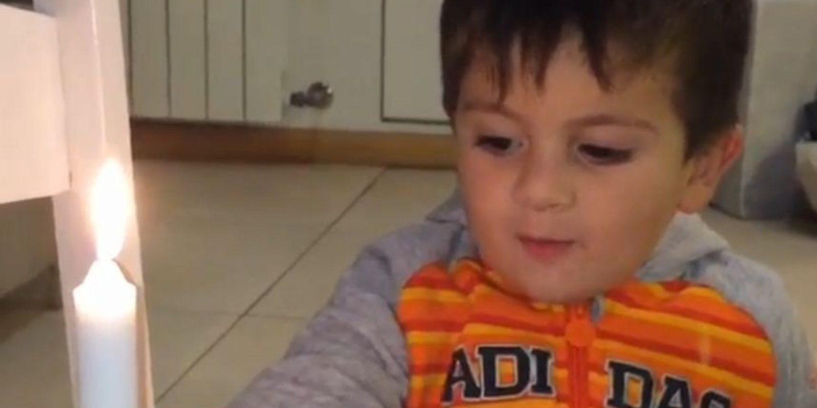 Se trata de un video en el que Thiago le desea feliz cumpleaños a Messi Foto:Vía instagram.com/antoroccuzzo88
