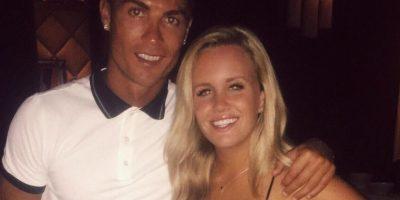 La joven Austin Milan presumió su encuentro con el futbolista del Real Madrid en Instagram Foto:Vía instagram.com/austinmilan
