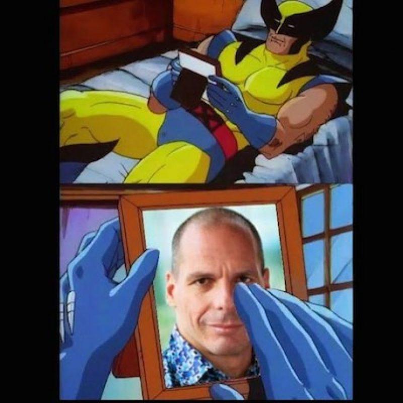 Así recuerdan a Yanis Varoufakis, exministro de Finanzas, quien renunció tras el referendum Foto:Instagram.com