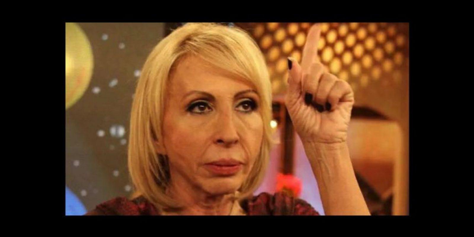 5.- También están los que la comparan con la conductora peruana, Laura Bozo. Foto:vía Twitter