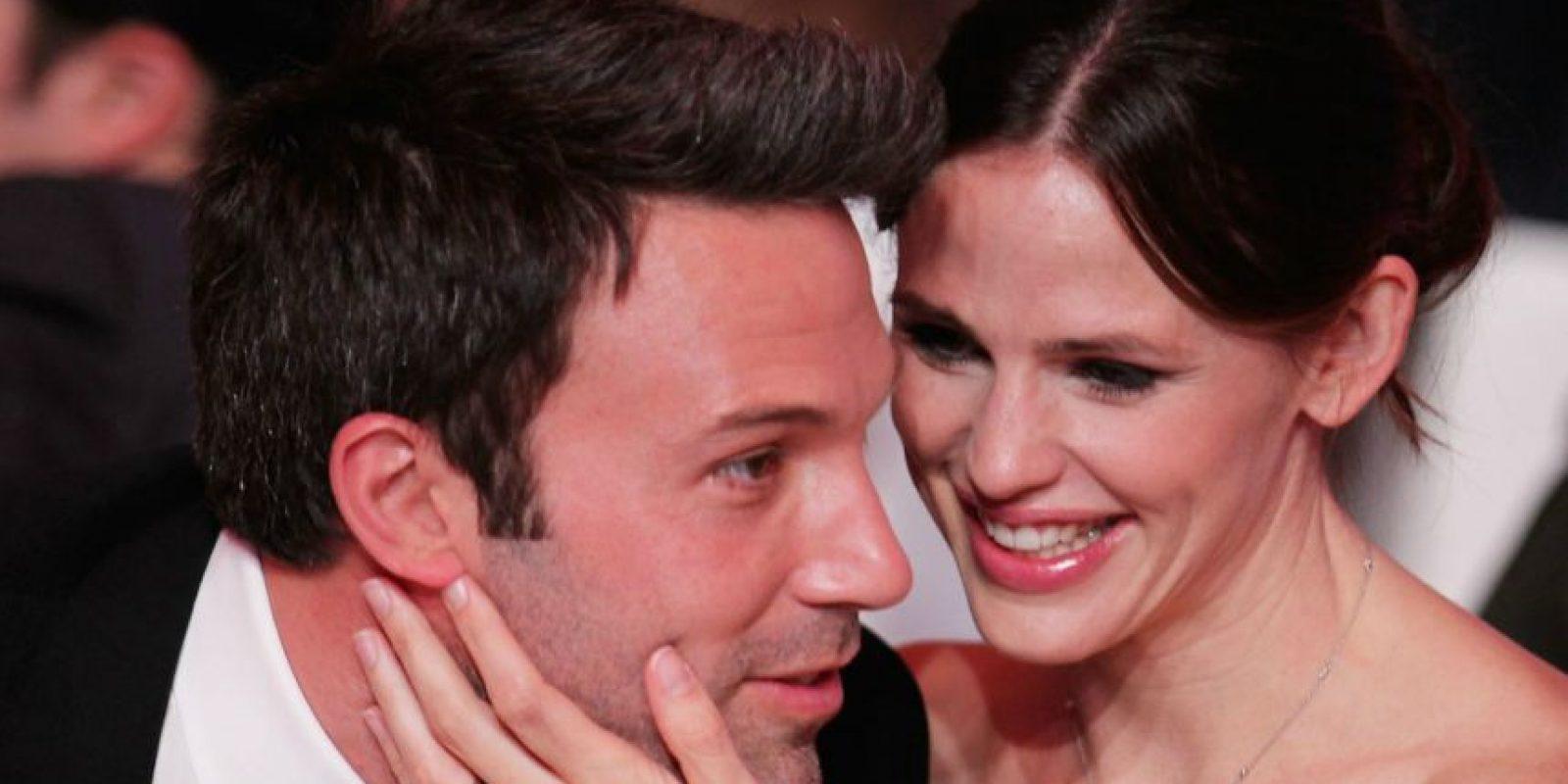 Ben Affleck y Jennifer Garner estuvieron juntos por diez años. Foto:Grosby Group