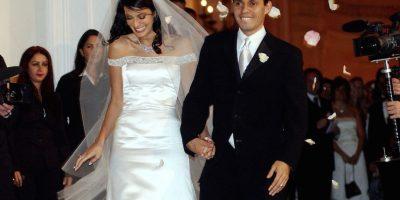 Luego de cinco años de matrimonio, en 2004, el cantante y la modelo puertorriqueña se divorciaron. Foto:Getty Images
