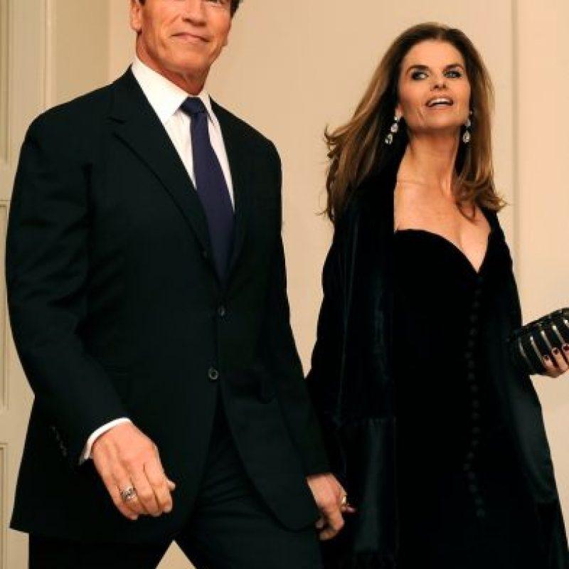"""El actor reveló su infidelidad a Maria Shriver en su libro """"Total Recall: My Unbelievably True Life Story"""". Foto:Getty Images"""