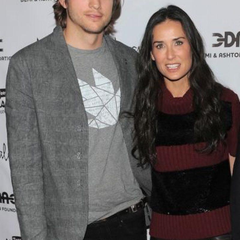 """El """"affaire"""" de Ashton ocurrió el mismo día que la pareja celebraba seis años de matrimonio. Foto:Getty Images"""
