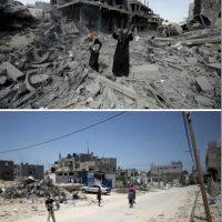 En la región conocida como Beit Hanun Foto:AFP