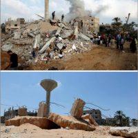 En el sur de Gaza, en la casa de la familia Duheir Foto:AFP