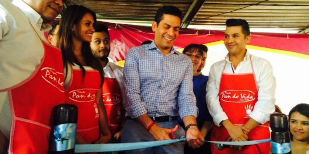 Fotos: Ismael Cala visita Coeli y el relleno sanitario en Guatemala