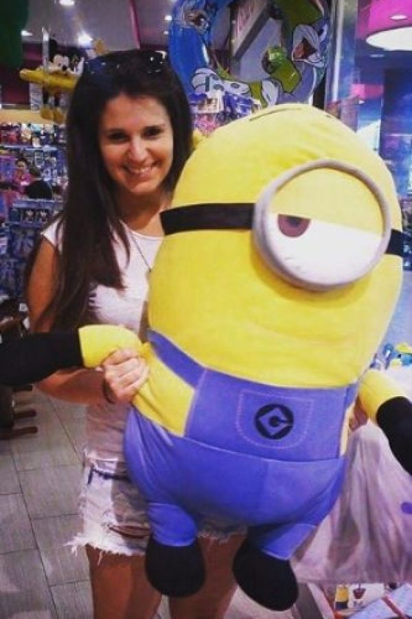 "7.- Un pelucha de ""Minion"" para abrazar Foto:vía instagram.com/krisztinascheiling"