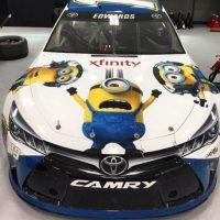 """19.- Este auto con mucha actitud """"Minion"""" Foto:vía instagram.com/kris10elkins"""
