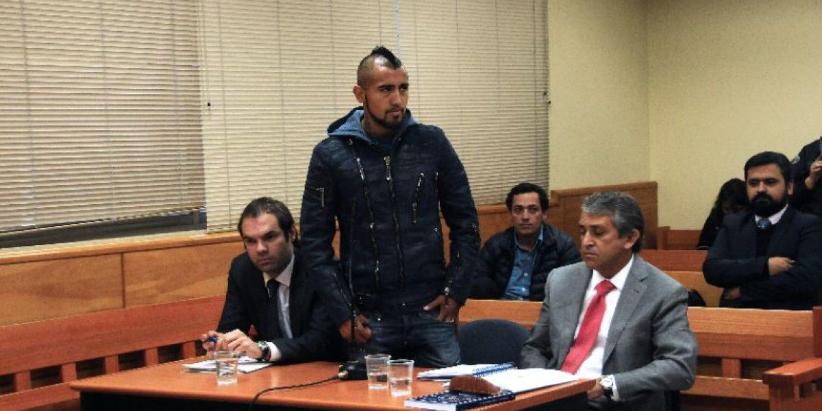 VIDEO. Vidal pide perdón y mira el castigo que le imponen