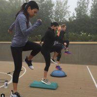 El ejercicio ha sido parte fundamental de la rutina de las Kardashian. Foto:Instagram/Kourtney Kardashian