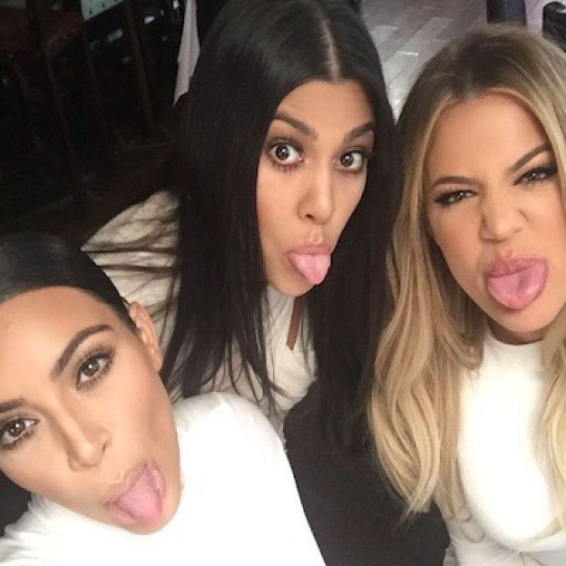 Tras la ruptura de Kourtney y Scott, Kim y Khloé se han mantenido junto a su hermana. Foto:Instagram/Kim Kardashian