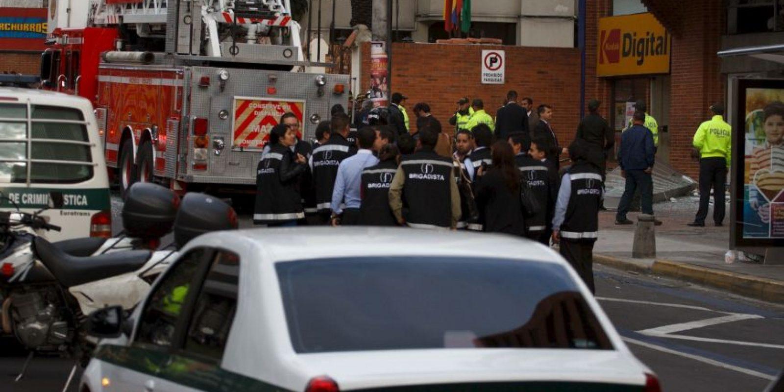 Detienen a 15 personas responsables de los atentados del pasado jueves dos de junio en Bogotá, Colombia. Foto:Juan Pablo Pino/Publimetro Colombia
