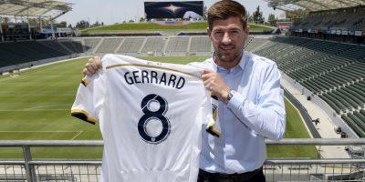 El excapitán del Liverpool jugará ahora para Los Ángeles Galaxy de la MLS. Foto:Getty Images