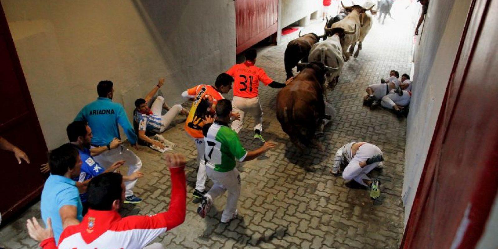 Pueden seguirse en directo a través de la página web del Ayuntamiento de Pamplona Foto:Getty Images