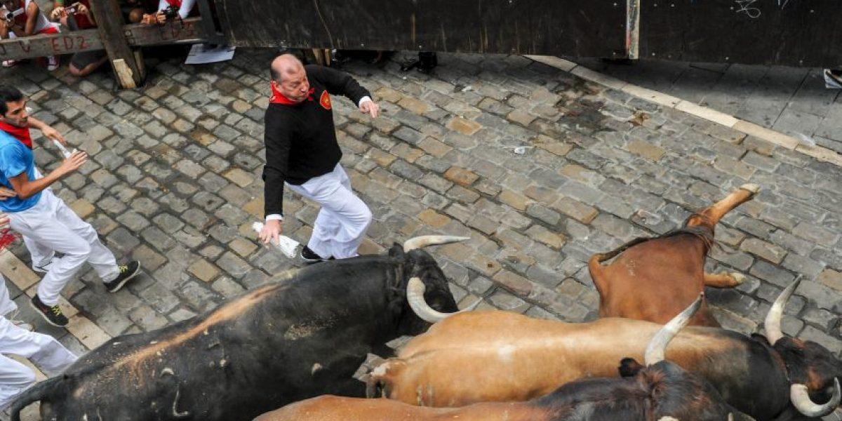 VIDEO: Así se ve un encierro en San Fermín en primera persona