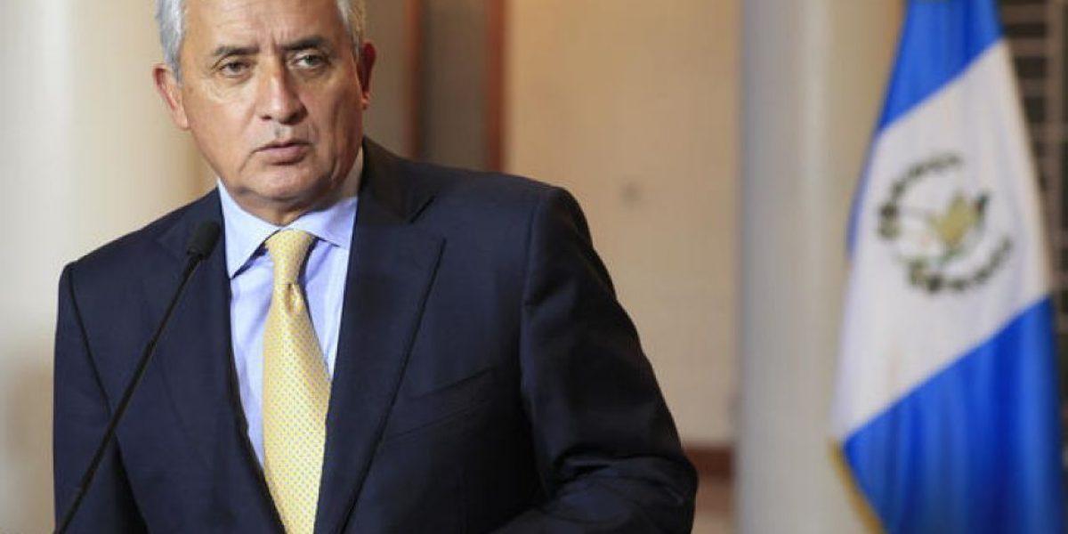 Presidente Otto Pérez está cerca de perder la inmunidad