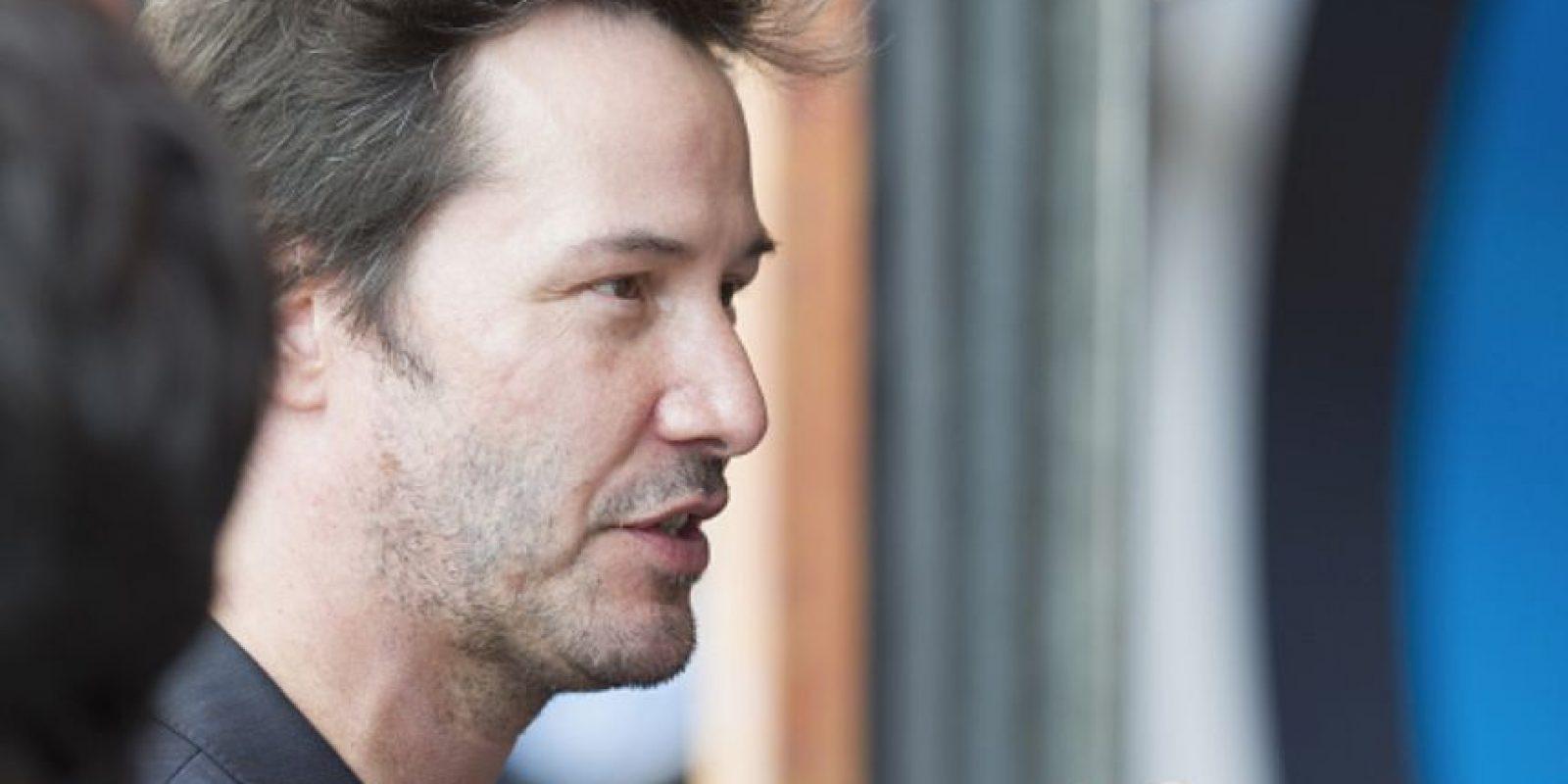 """Keanu Reeves casi convence al público en """"El Abogado del Diablo"""" y en """"Matrix"""". Foto:vía Getty Images"""