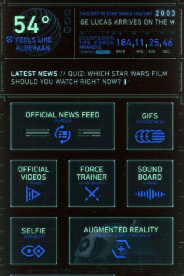 """Tema de escritorio """"androide"""" Foto:Disney"""