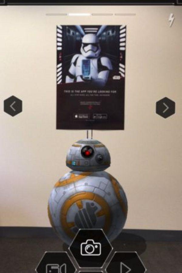 Fotos con realidad aumentada Foto:Disney