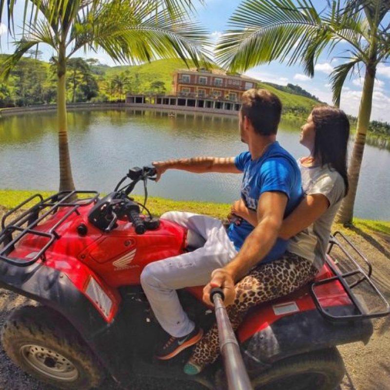 Pero, hay una pareja casi igual a la conformada por los brasileños y que también genera envidias en Instagram. Foto:vía Instagram/leonardopereira1