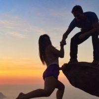 Muchos envidian a Leonardo y Victoria por vivir al límite. Foto:vía Instagram/leonardopereira1