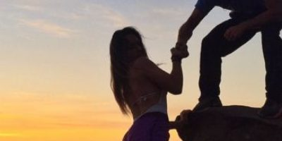 FOTOS: Esta arriesgada pareja de Instagram los dejará boquiabiertos