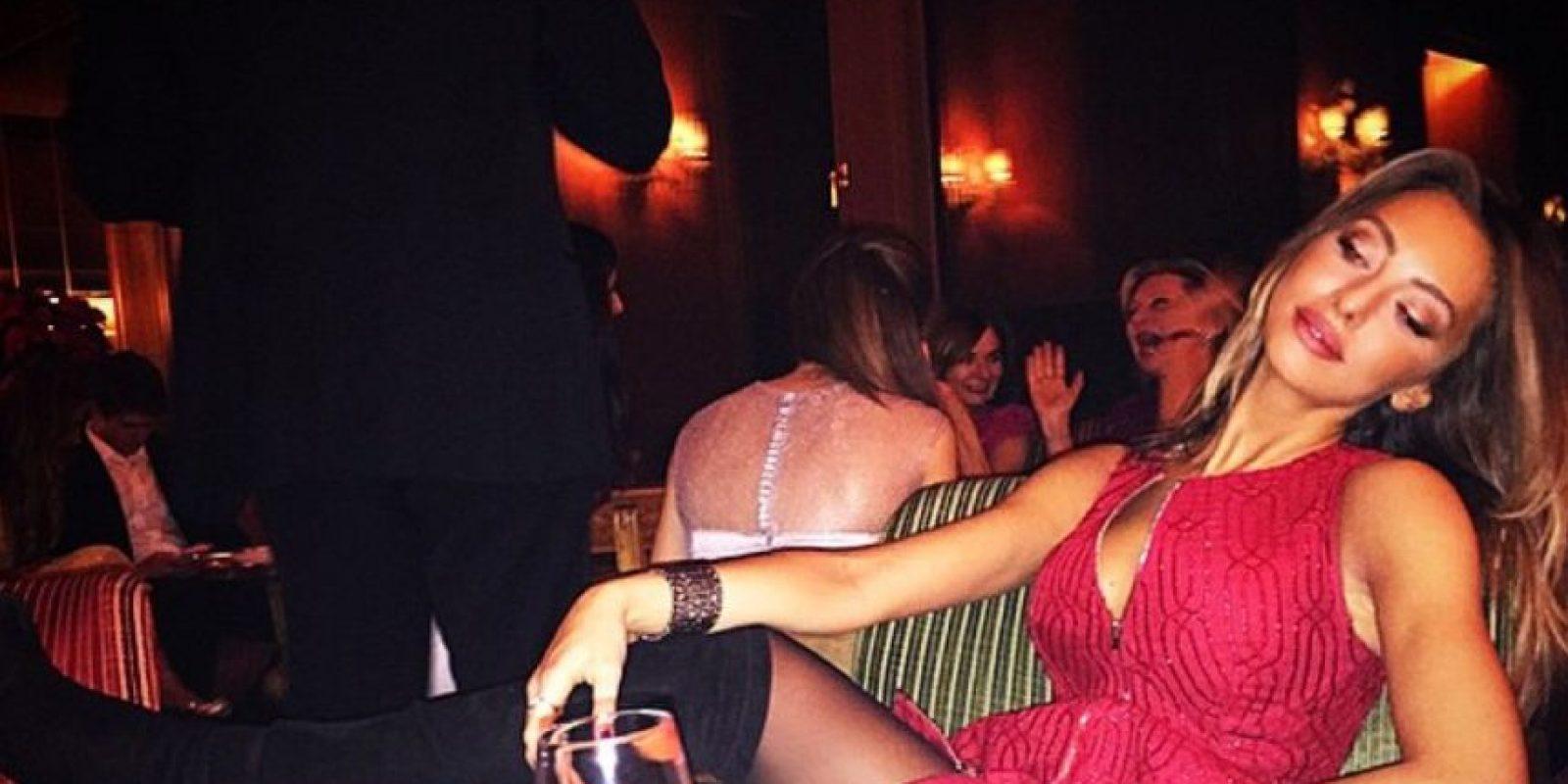 """Diversos medios manejaron que Alessia Tedeschi sostuvo una relación con """"CR7"""" Foto:Vía instagram.com/alessiatedeschi91"""
