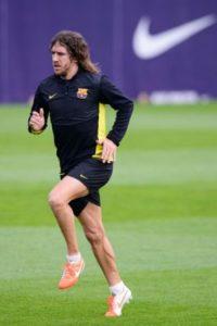 Carles Puyol perdió ese partido Foto:Getty Images
