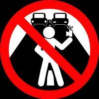 No tomarse selfies en la carretera. Foto:vía mvd.ru