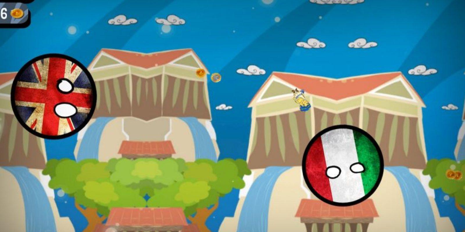 Al saltar deberán recolectar la mayor cantidad de euros Foto:AAAppDev – Google Play