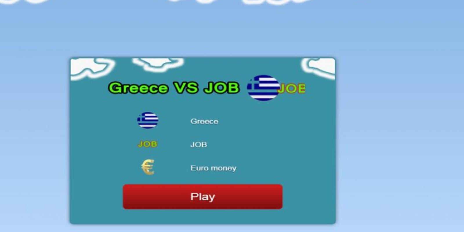 """""""Sin trabajo no hay dinero"""" es el eslogan de este juego estilo Flappy Bird Foto:Shuvaev Games- Google Play"""