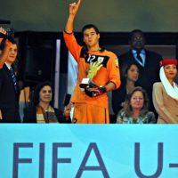 Futbolista uruguayo de 20 años. Foto:Getty Images