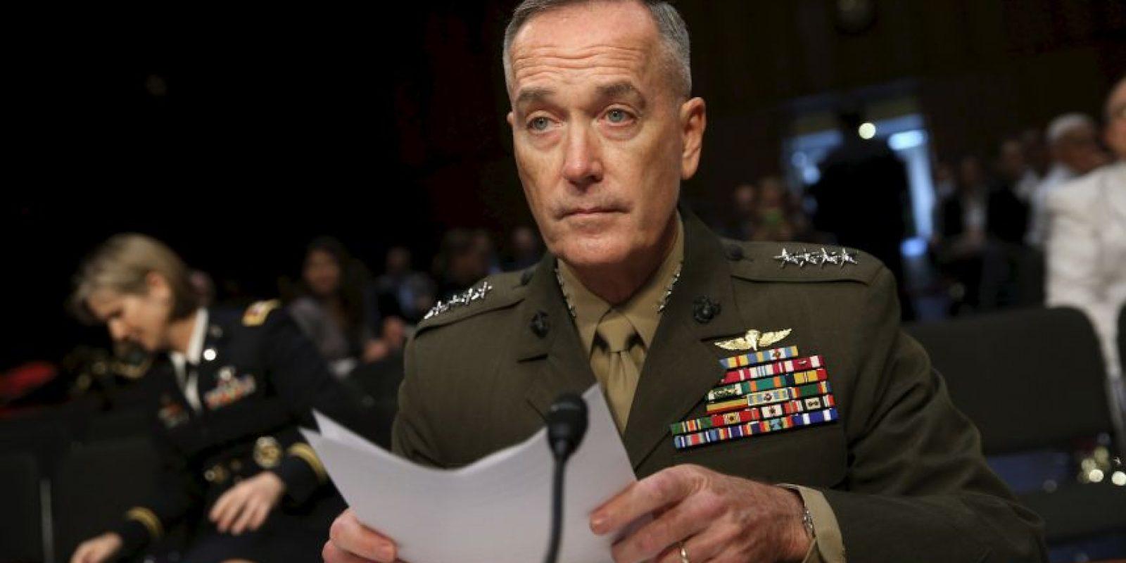 El general Josheph Dunford, aseguró que a pesar de los problemas que se tienen con el ISIS, Rusia es una amenaza para la seguridad nacional. Foto:AFP