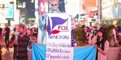 Jimmy Morales demuestra el apoyo de guatemaltecos en los EE.UU.