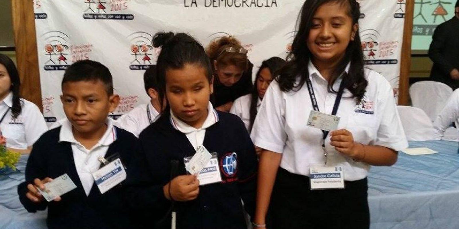 Niños recibirán un DPI simbólico Foto:Kenneth Monzón