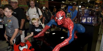 El cosplay se hace presente en el Centro de Convenciones de San Diego Foto:AP
