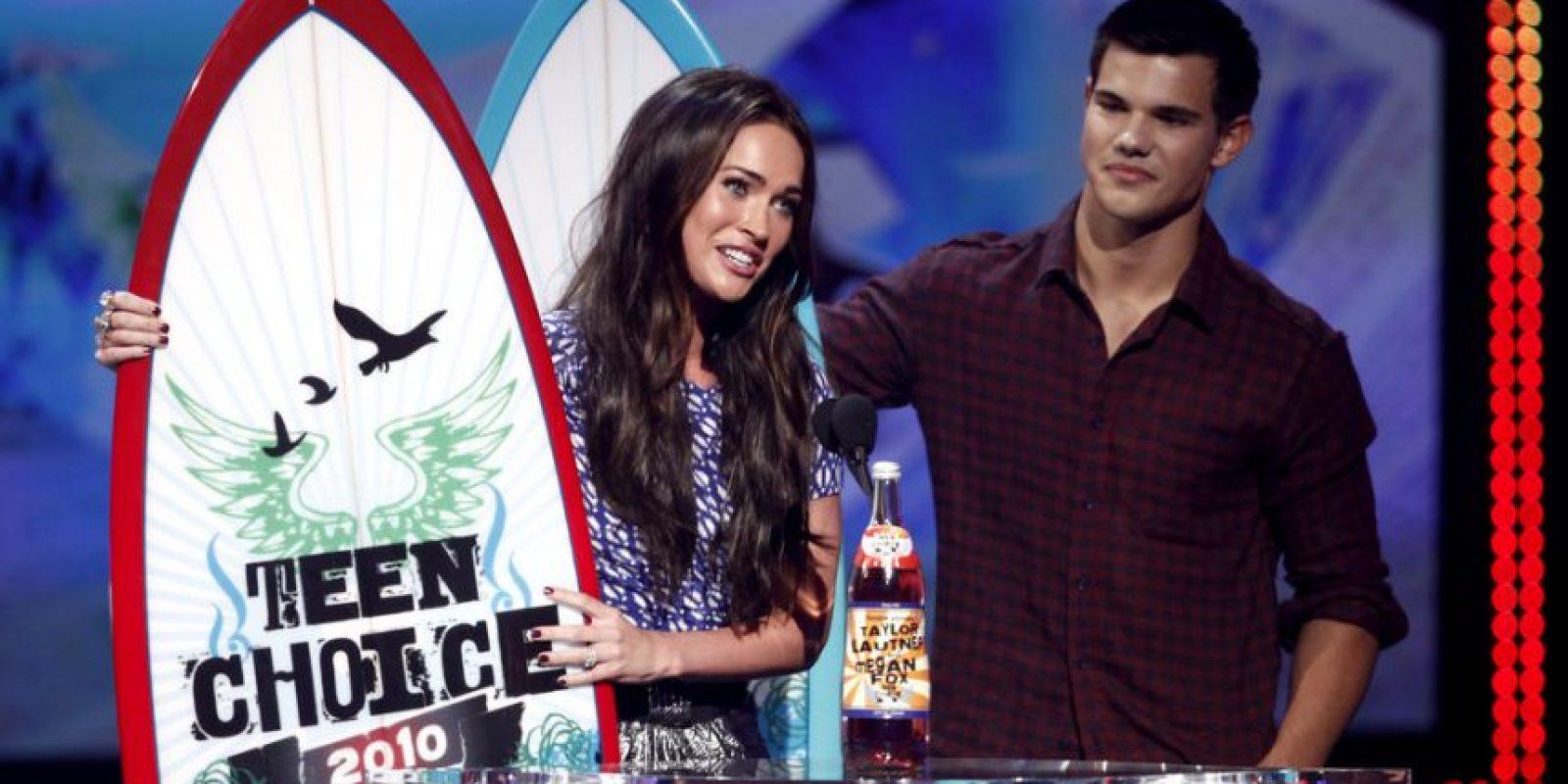 Taylor Lautner y Megan Fox