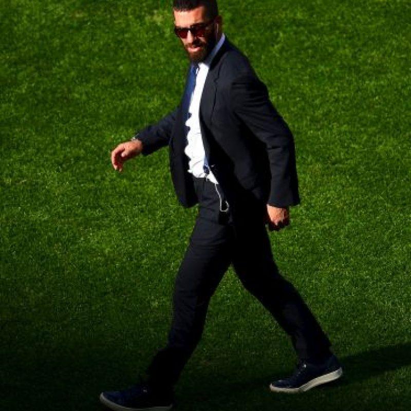 2014. Además de su técnica individual, se caracteriza por su prominente barba Foto:Getty Images