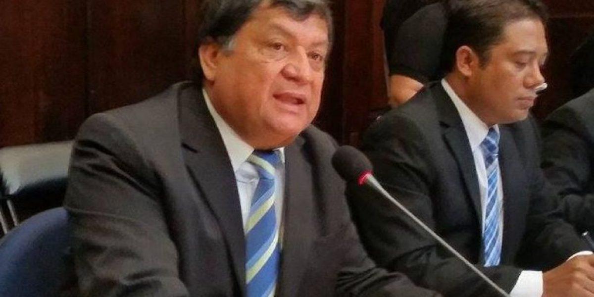 Por unanimidad CSJ da trámite a antejuicio contra Baudilio Hichos