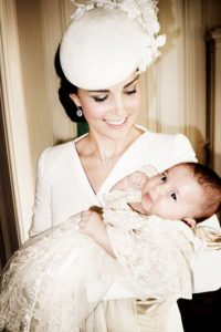 Kate Middleton junto a su segunda hija Foto: Getty Images