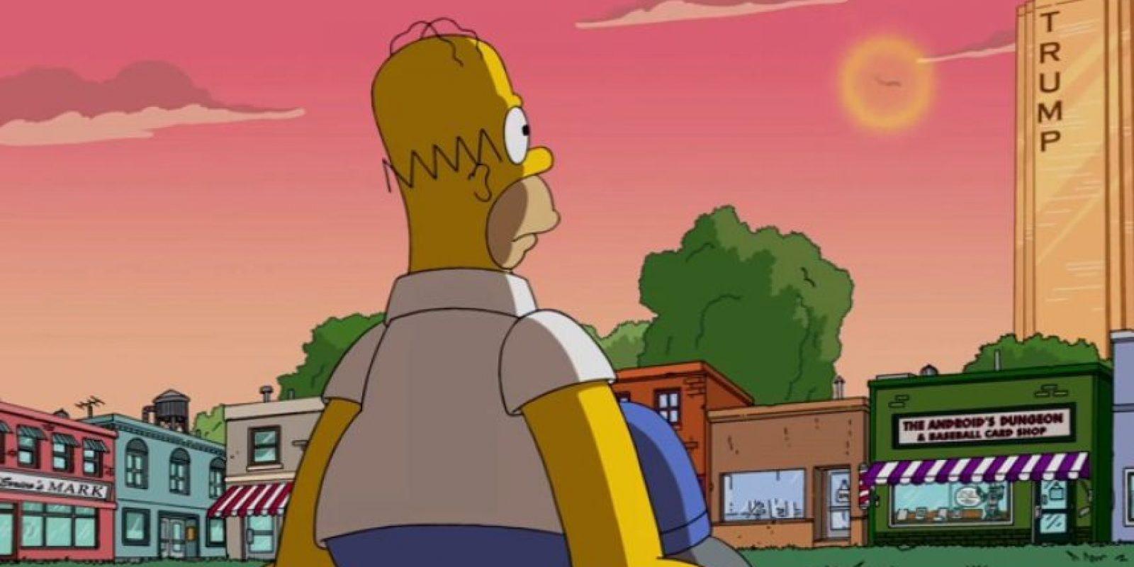 """La temporada número 27 de """"Los Simpson"""" se estrenará durante el segundo semestre de 2015. Foto:YouTube/Animation Domination"""