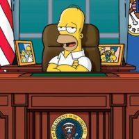 """Los comentarios de Donald Trump llegaron a la ciudad de """"Springfield"""" Foto:Facebook/The Simpsons"""