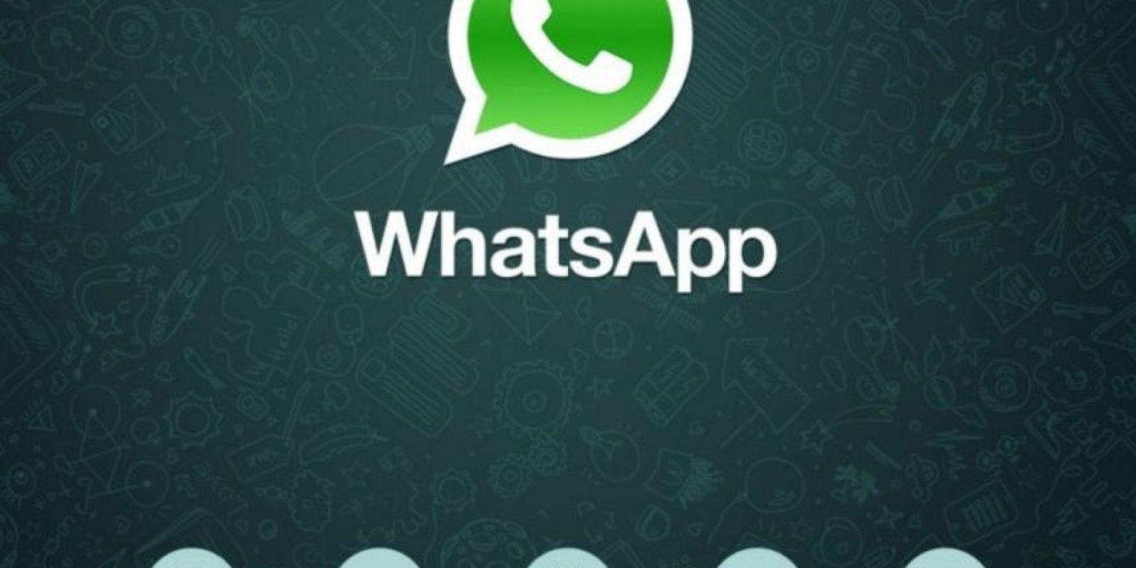 7- Desde enero pasado, 30 mil millones de mensajes se envían o reciben diariamente en WhatsApp. Foto:Pinterest