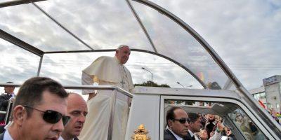 En la tarde tendrá una reunión con religiosos bolivianos Foto:AFP