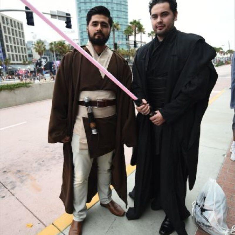Los personajes de Star Wars, de los más usados en este año que será el estreno de la nueva entrega Foto:Getty Images