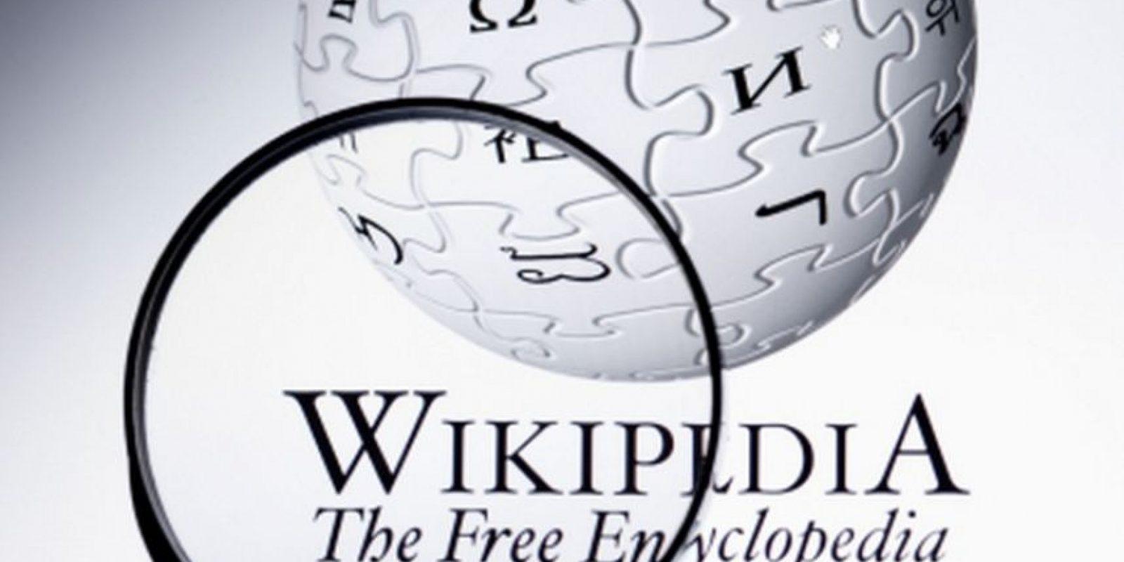 Wikipedia es parte de Wikimedia Foundation, una organización sin fines de lucro que busca que el conocimiento sea gratuito alrededor del mundo. Foto:Tumblr