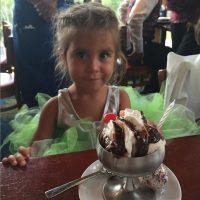 ¡Feliz cumpleaños a la niña más dulce del mundo!, escribió la madre de Penélope. Foto:Instagram/KourtneyKardashian