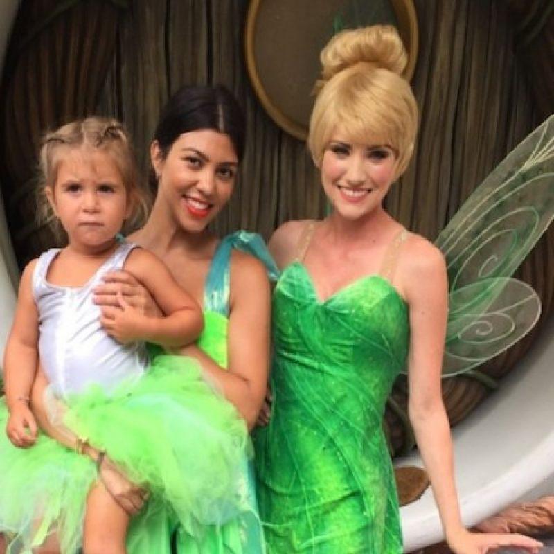 Penélope celebró su cumpleaños en Disneylandia. Foto:Instagram/Kourtney Kardashian
