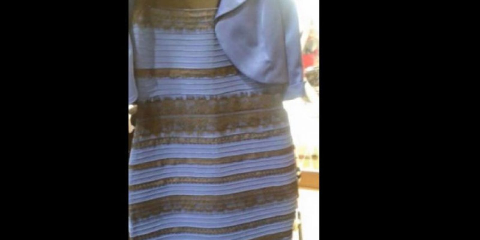"¿Se acuerdan de ""The Dress""? Foto: vía Twitter"